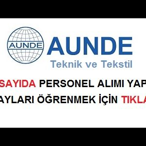 Aunde Teknik ve Tekstil