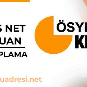 KPSS Net ve Puan Hesaplama
